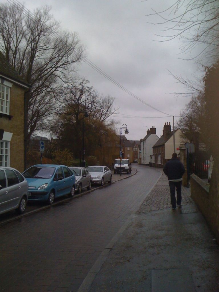 Richard have a wander around Church Street, St Neots