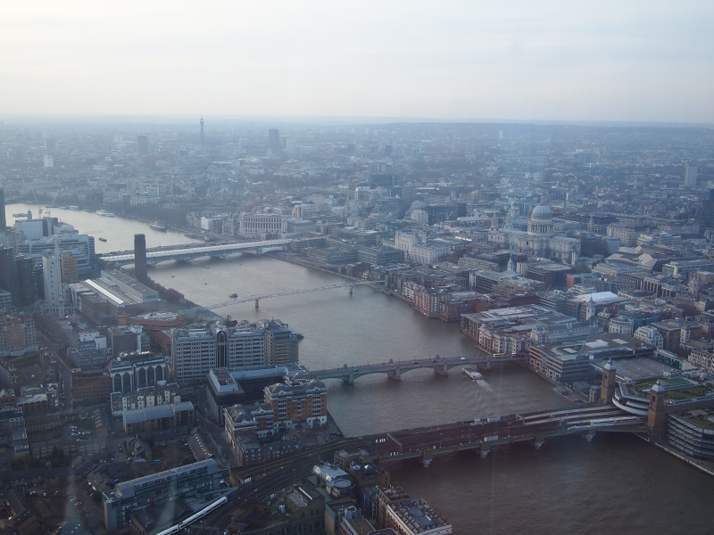 The Thames and the City of London