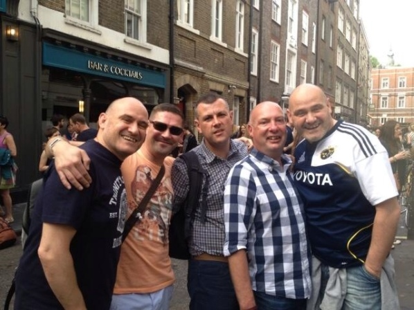 Paul, Me, Richard, Chris and Peter