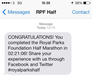 RPH texted me my time