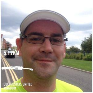 Captured mid run - honest!