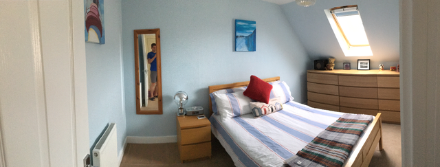 The refreshed guest room :)