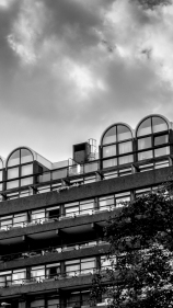 Light and dark. Barbican Centre, London. Pentax Q.