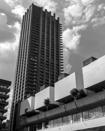 Home and Social Space. Barbican Centre, London. Pentax Q.