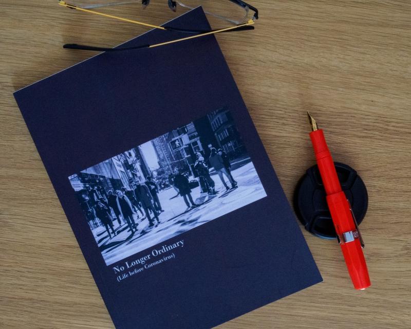 A photo of my photobook No Longer Ordinary