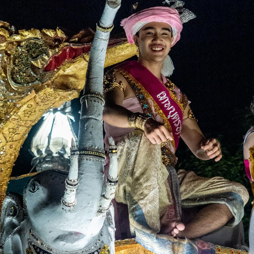 Loy Krathong Float King