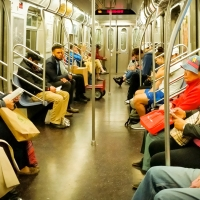 People and Places: Subway, New York