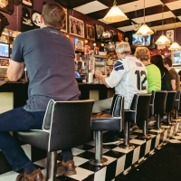 People and Places: Sports Bar, Seattle