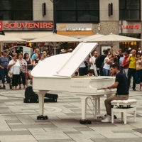 People and Places: Pianist,  Vienna